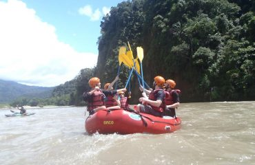 Rafting available daily class III